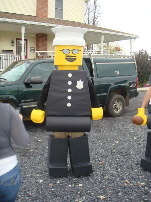 LEGO Costume   Minifigure Costume Minifigure Minifig LEGOGuys Lego Man LEGO Costumes LEGO Halloween First Fitting BlockGuys