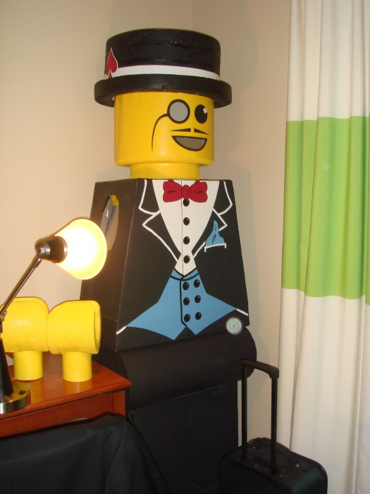 LEGO Costume   Money Man Minifigure Costume Minifigure Minifig LEGOGuys Lego Man LEGO Costumes LEGO Halloween BlockGuys