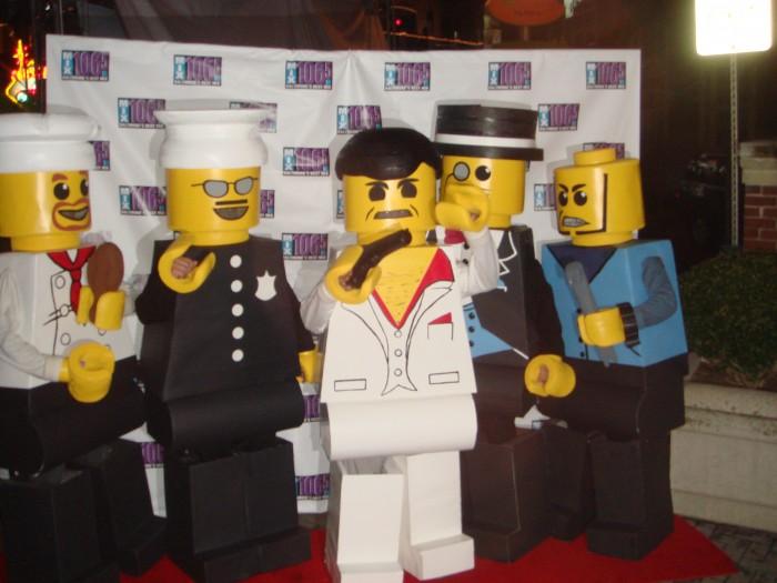 LEGO Costume   Mix106.5 Minifigure Costume Minifigure Minifig LEGOGuys Lego Man LEGO Costumes LEGO Halloween BlockGuys