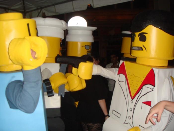 LEGO Costume   Robber Mobster Minifigure Costume Minifigure Minifig LEGOGuys Lego Man LEGO Costumes LEGO Halloween BlockGuys