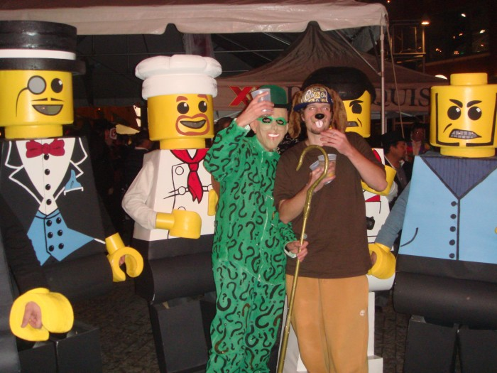 LEGO Costume   Robber Money Man Mobster Minifigure Costume Minifigure Minifig LEGOGuys Lego Man LEGO Costumes LEGO Halloween Chef BlockGuys