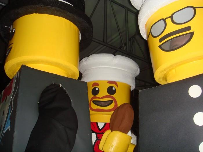 LEGO Costume   Money Man Minifigure Costume Minifigure Minifig LEGOGuys Lego Man LEGO Costumes LEGO Halloween Cop Chef BlockGuys