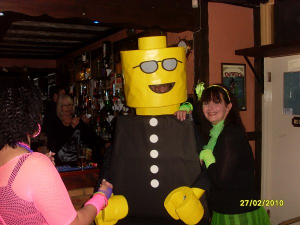 LEGO Costume   User Created LEGOGuys LEGO Costumes LEGO COP LEGO Costume