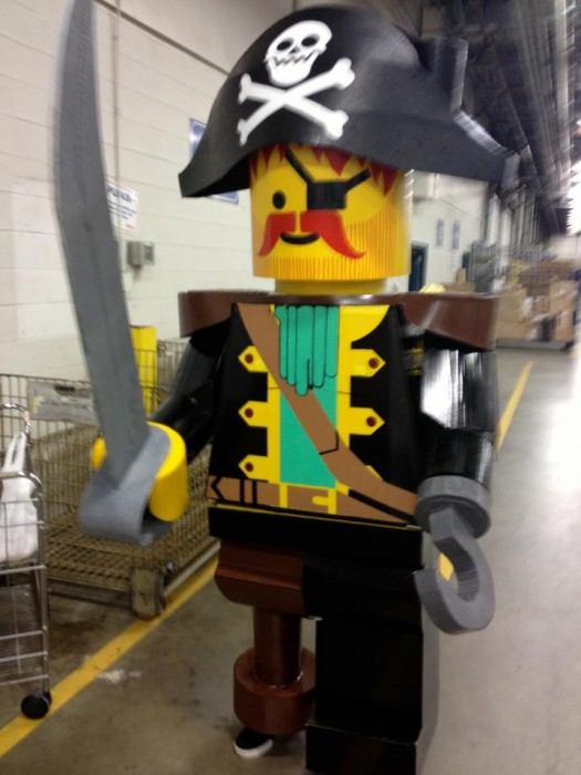 LEGO Costume   Pirate Minifigure Pirate Costume Pirate LEGO Pirate lego man costume LEGO COSTUME LEGO