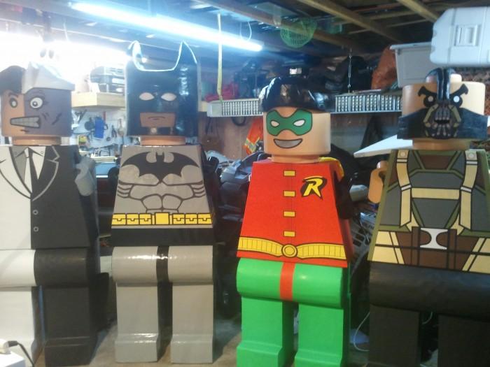 LEGO Costume   lego man costume LEGO COSTUME LEGO Batman Batman Costume