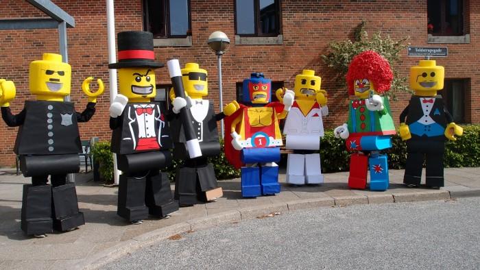 LEGO Costume   lego minifigure costume lego man costume LEGO COSTUME Karneval 2013 Denmark