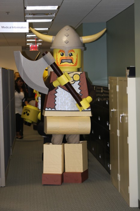 LEGO Costume   Viking Pirate lego man costume LEGO COSTUME Hook Group BlockGuys