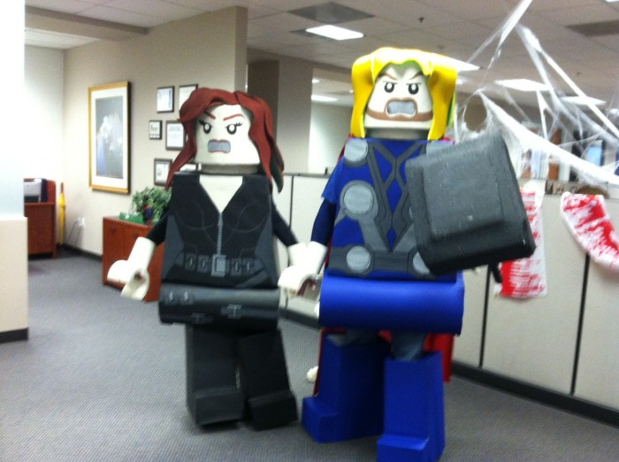LEGO Costume   Thor lego man costume LEGO COSTUME LEGO Black Widow Avengers