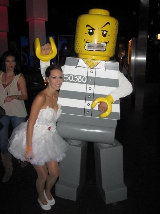 LEGO Costume   Robber lego man costume LEGO COSTUME BlockGuys